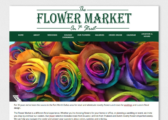 The Flower Market on 7th Street